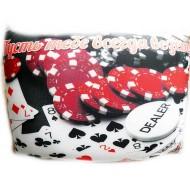 Подушка,интерьерная,Пусть тебе всегда везет,Трикотаж