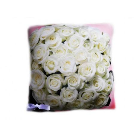 Подушка,интерьерная,Вальс цветов,