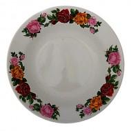 Тарелка глубокая 250 мл d.20 см h.4 см ,Розы,