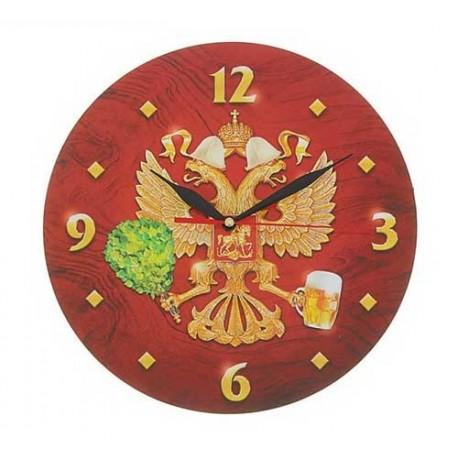 часы с пожеланием «Русская баня»