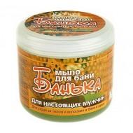 Мыло густое для бани Для настоящих мужчин 450 мл