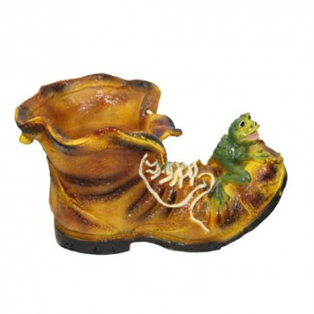 Ботинок с лягушкой размер 47х27см