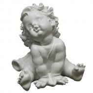 Ангел с дудкой,16х17 см