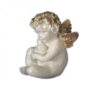 Ангел с кроликом,12х16см