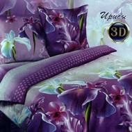 """набор постельный """"Ирисы""""3D"""