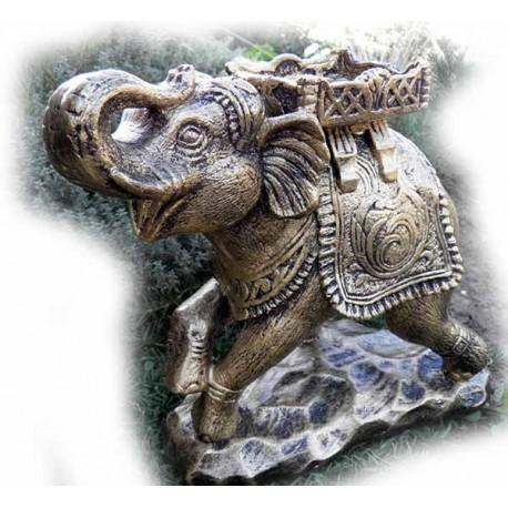 Слон с подставкой,ГИПС