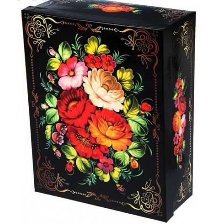 "Коробка ""Расписная"" 31х24х10,5 см"