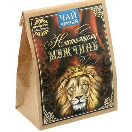 Чай черный подарочный 100 гр Настоящему мужчине №2