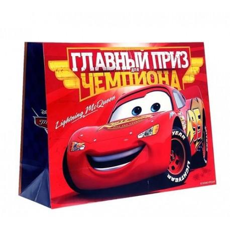 Пакет ламинат XL ,Главный приз чемпиона, Тачки