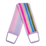 Мочалка-лента для тела длинная, 70 см, цвета МИКС