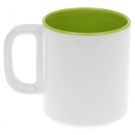 Кружка 280 мл ,Двухцветная,цвет зеленый