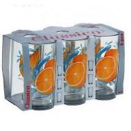 Набор стаканов 200 мл ,Лимон, 6 шт