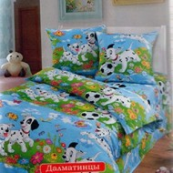 """постельный набор-Ясли-""""Далматинцы"""""""