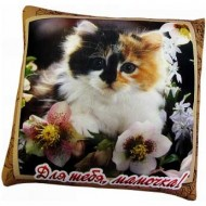Подушка Кошка ,Для тебя, мамочка,