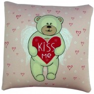 Подушка ,Влюбленный мишка .Kiss me,