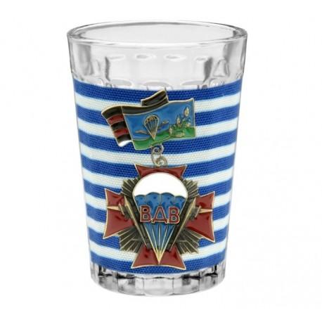 Граненый стакан ВДВс орденом (150 мл)
