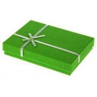 Коробка подарочная прямоуг ,Соты, 16 х 12 х 3 см
