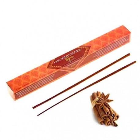 Благовония ,Восторг Индии, Корица, 15 палочек