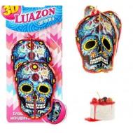 Освежитель воздуха,Luazon aroma-3D-ЧЕРЕП,