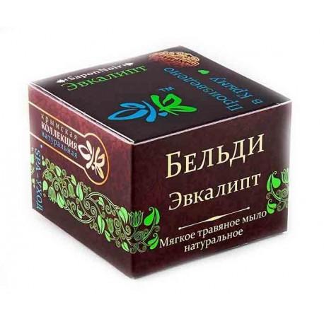 Мягкое травяное мыло Бельди Эвкалиптовое