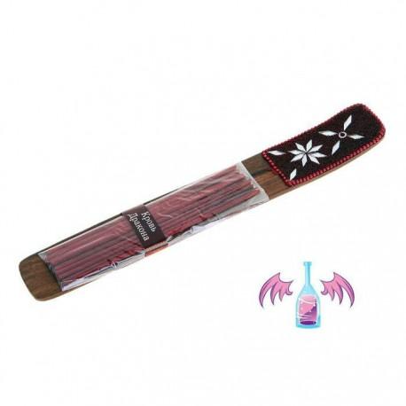 Набор ,KARMA,Кровь дракона, 10 палочек с подставкой-лодочка