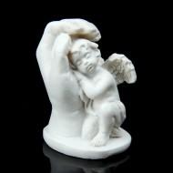 Сувенир ,Ангелочек спит на руке, МИКС