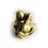 Статуэтка амулет,Танцующие лягушки  ,45-30-30мм ,бронза