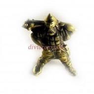 Статуэтка амулет, Скиф с булавой  ,55-35-20мм ,бронза