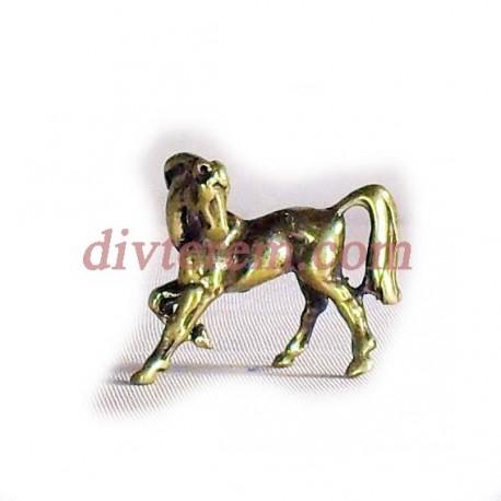 Фигурка,амулет,Конь  ,30-25-10  мм,Бронза