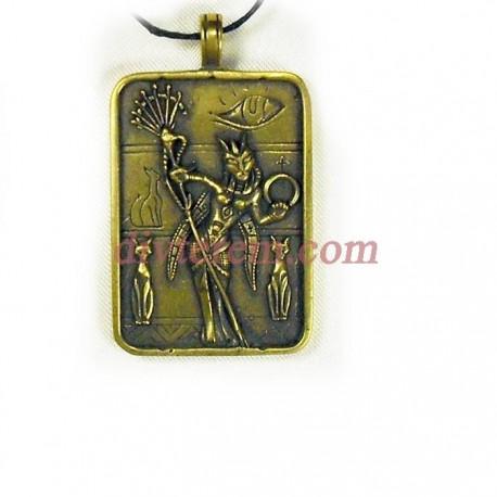 Миниатюра,амулет,Богиня Бастет  ,Бронза