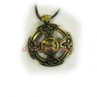 Миниатюра,амулет,Мальтийский крест  ,Бронза