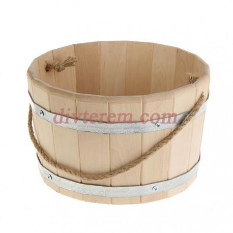 Ведро деревянное 10 л, береза