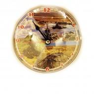 """Часы-магнит """"Чокрак-Вулканы"""" 10 см"""