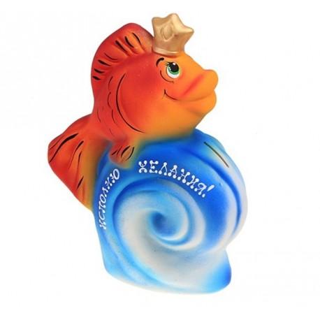 """копилка """"Золотая рыбка"""" исполняю желания -30 см"""