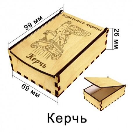 Деревянная упаковка для Карт Крым