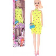 """Кукла""""Полли"""" в платье с аксессуарами цвета микс"""