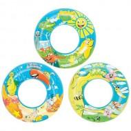 Круг надувной для плавания Дизайнерский 56 см  Bestway