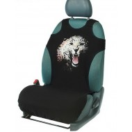 Чехол-майка ,Леопард , на переднее сиденье, хлопок
